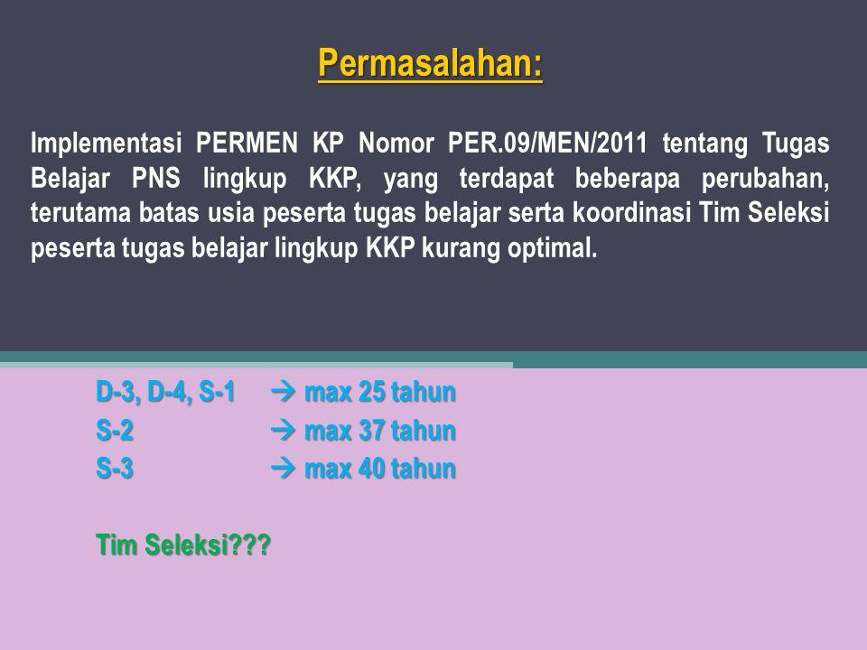 Permasalahan: Implementasi PERMEN KP Nomor PER