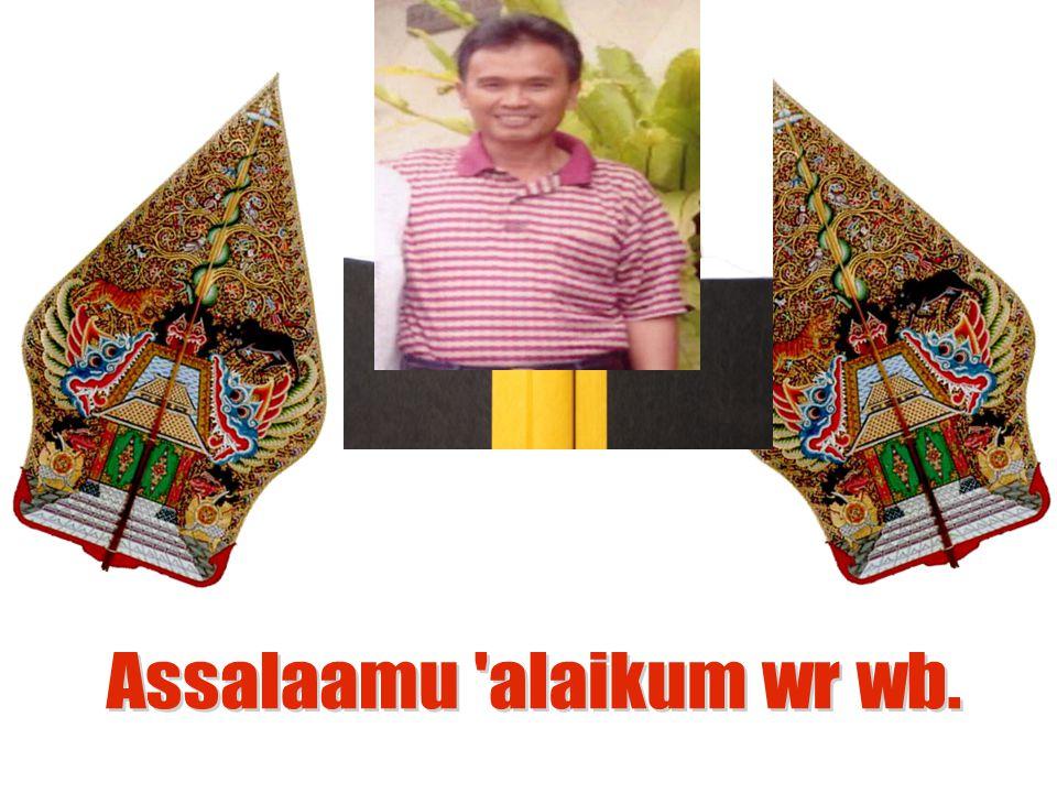 Assalaamu alaikum wr wb.