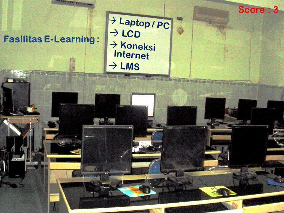 Fasilitas E-Learning :