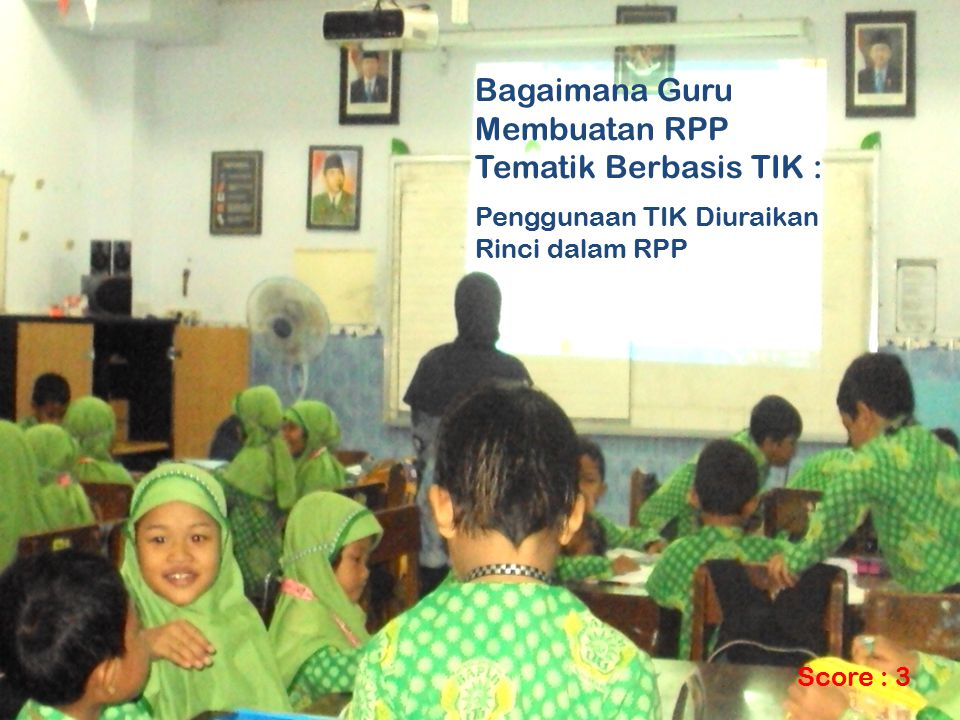 Bagaimana Guru Membuatan RPP Tematik Berbasis TIK :