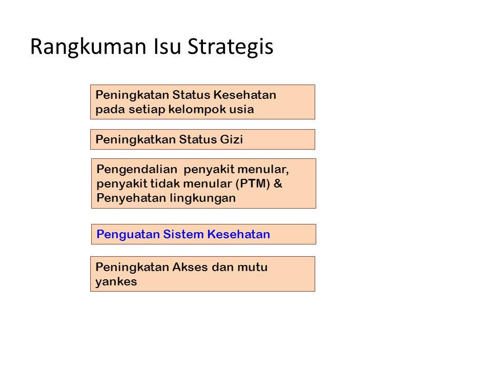 Rangkuman Isu Strategis