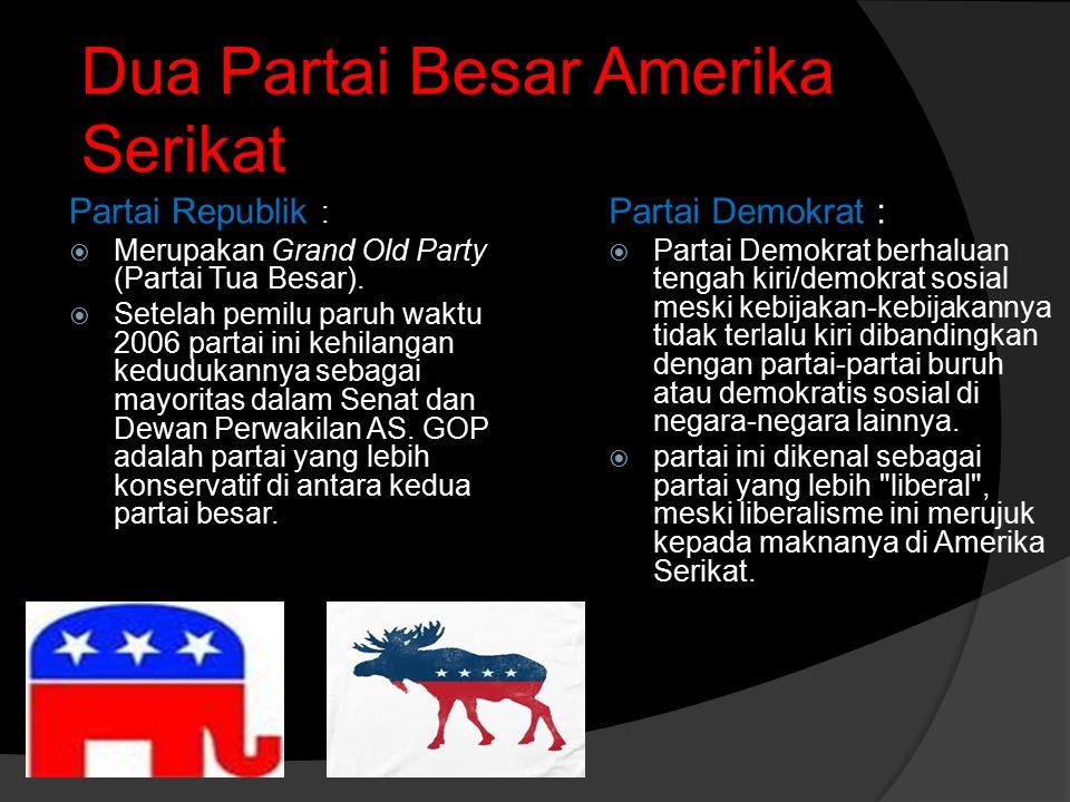 Dua Partai Besar Amerika Serikat