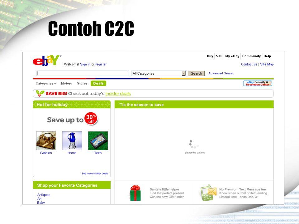 Contoh C2C