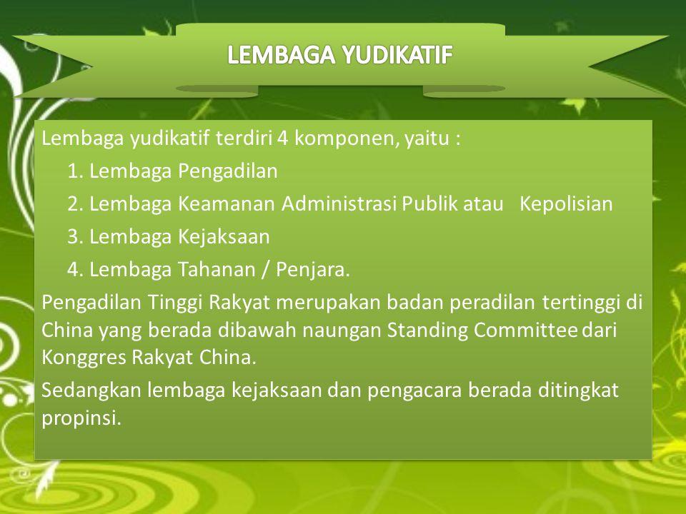 LEMBAGA YUDIKATIF