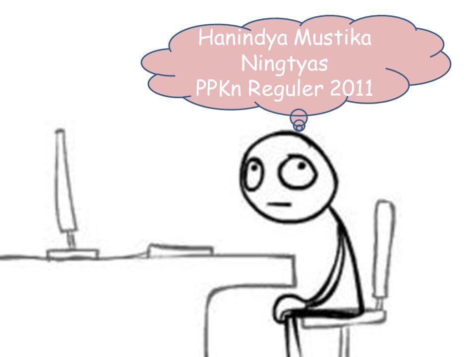 Hanindya Mustika Ningtyas