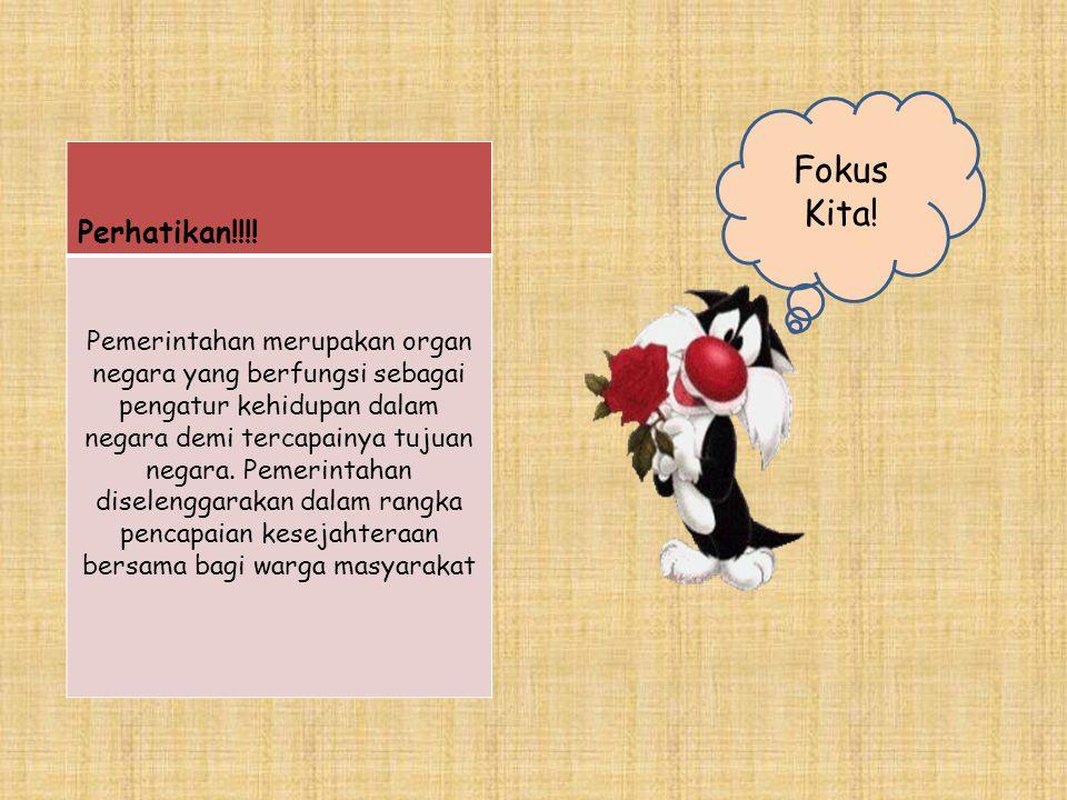 Fokus Kita! Perhatikan!!!!