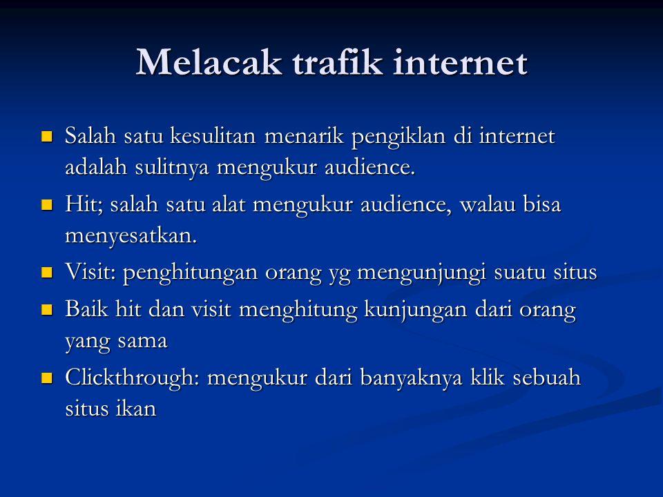 Melacak trafik internet
