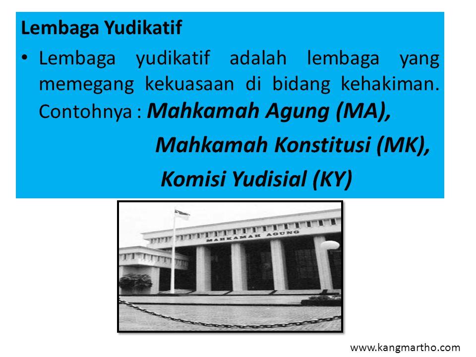 Mahkamah Konstitusi (MK), Komisi Yudisial (KY)