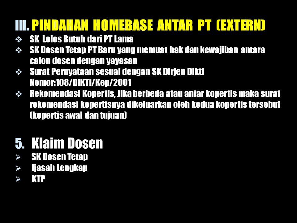 PINDAHAN HOMEBASE ANTAR PT (EXTERN)