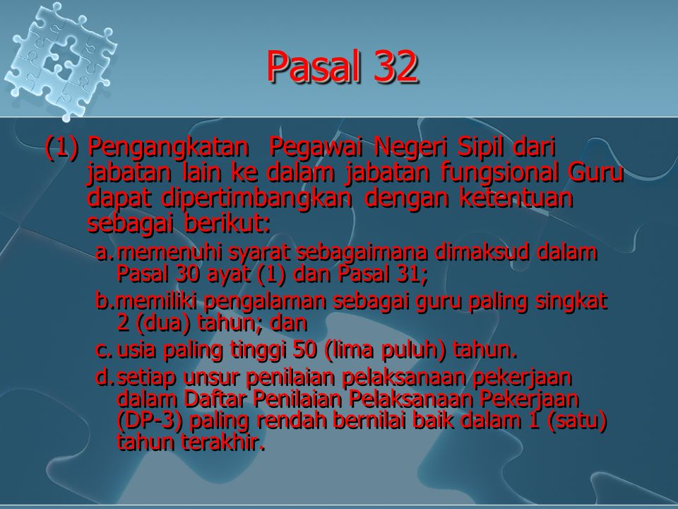 Pasal 32