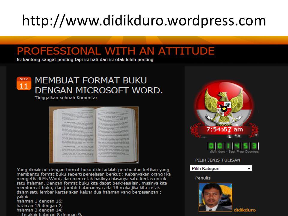 http://www.didikduro.wordpress.com