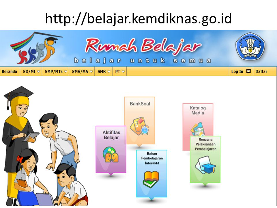 http://belajar.kemdiknas.go.id