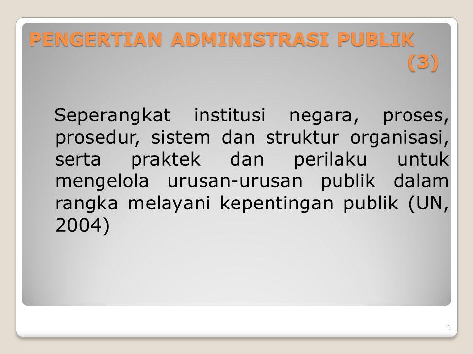 PENGERTIAN ADMINISTRASI PUBLIK (3)
