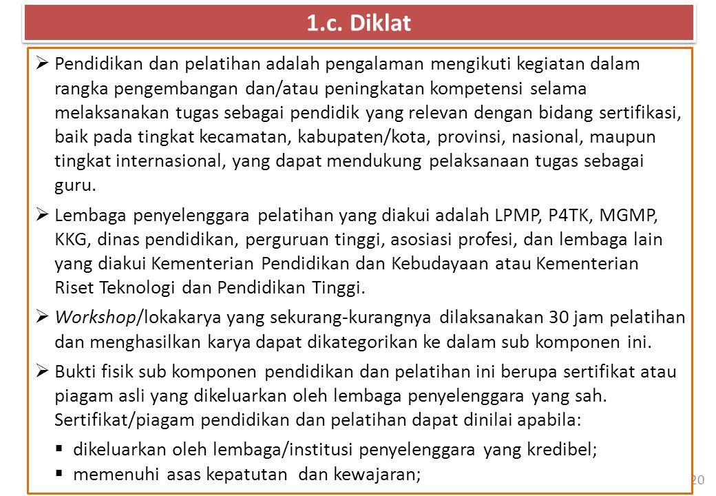 1.c. Diklat