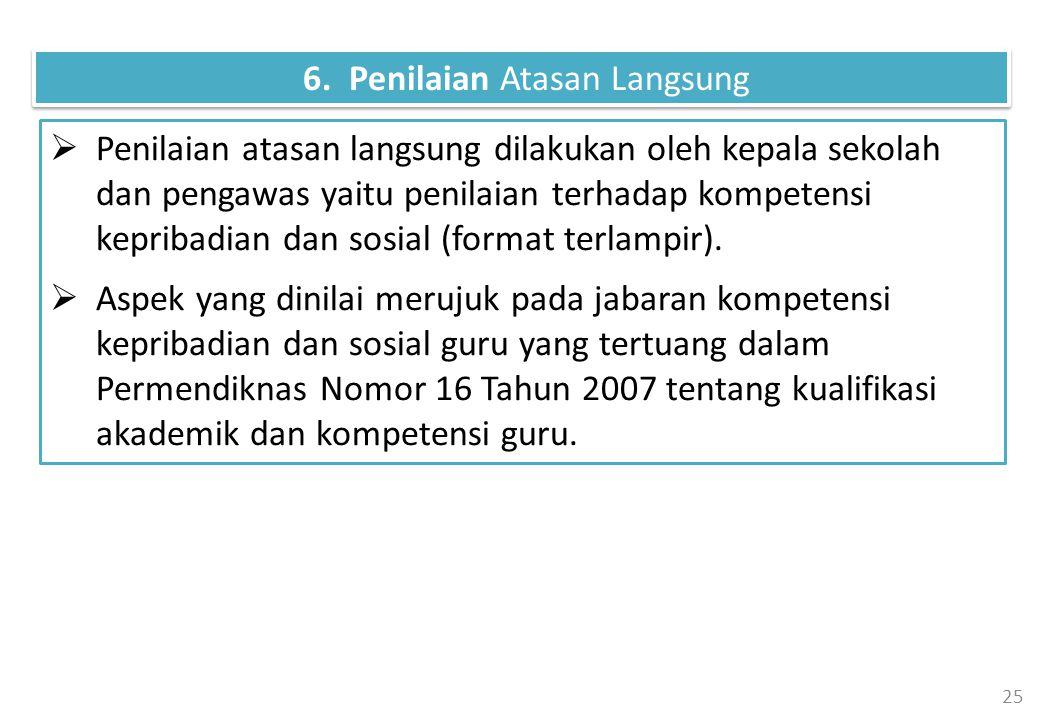 6. Penilaian Atasan Langsung