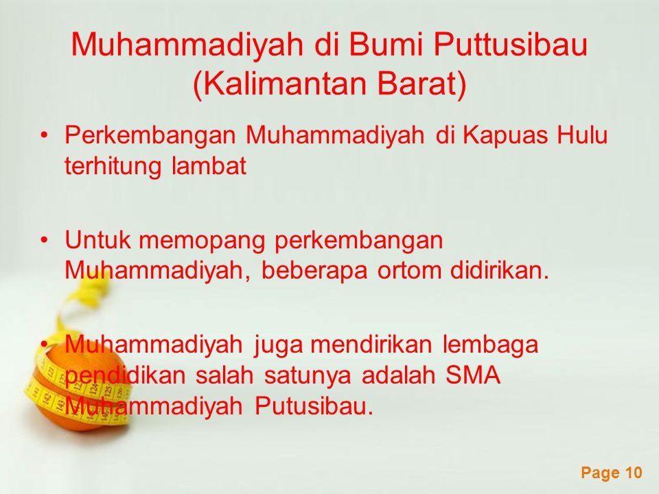 Muhammadiyah di Bumi Puttusibau (Kalimantan Barat)