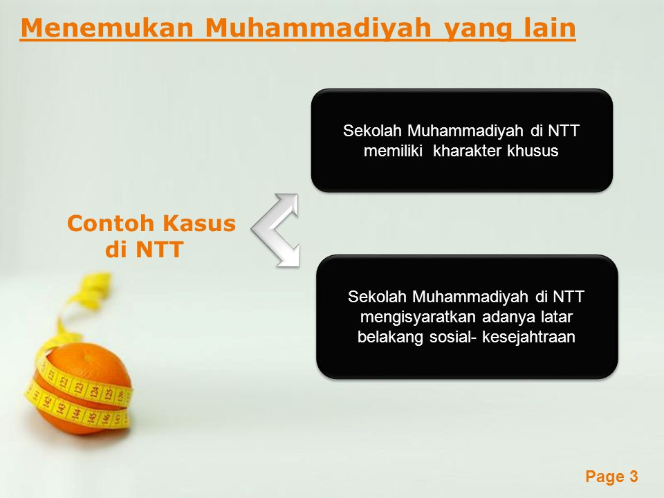 Sekolah Muhammadiyah di NTT memiliki kharakter khusus
