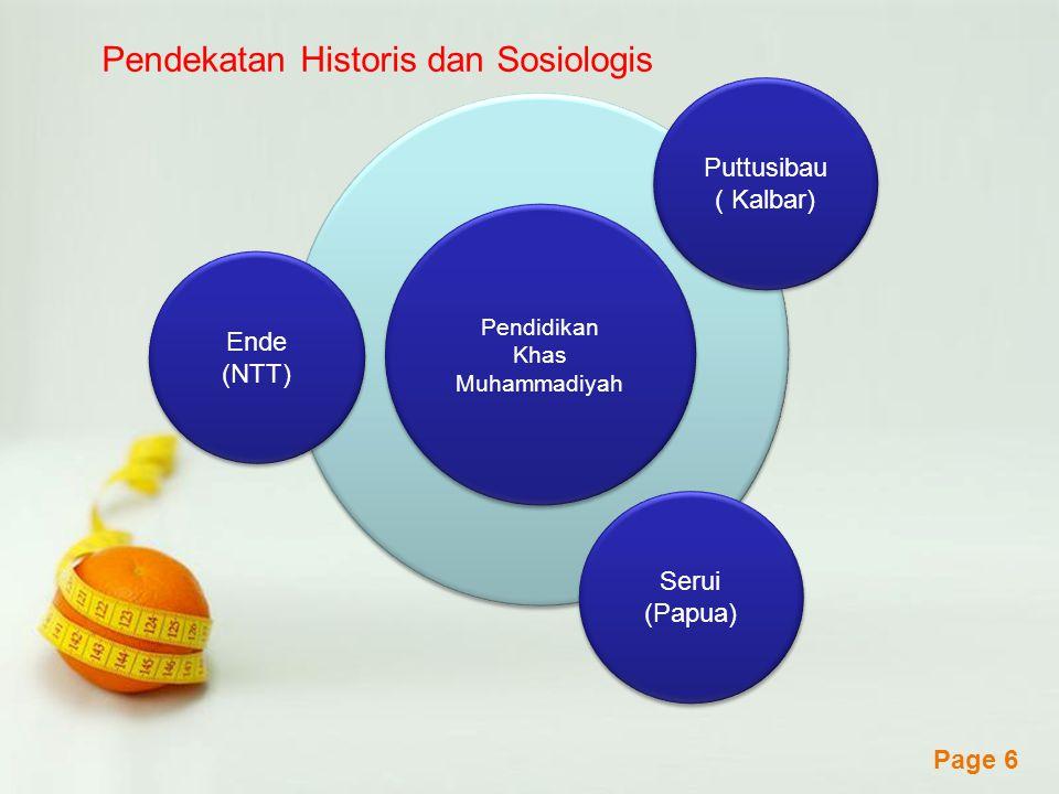 Pendekatan Historis dan Sosiologis