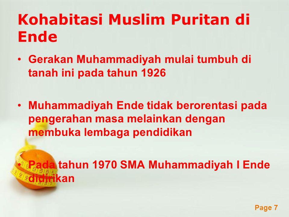 Kohabitasi Muslim Puritan di Ende