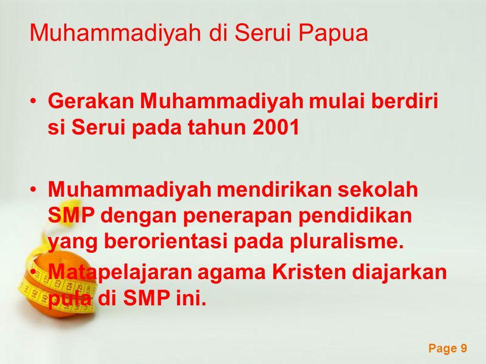 Muhammadiyah di Serui Papua