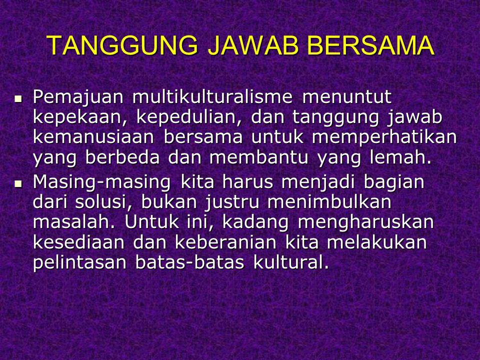 TANGGUNG JAWAB BERSAMA