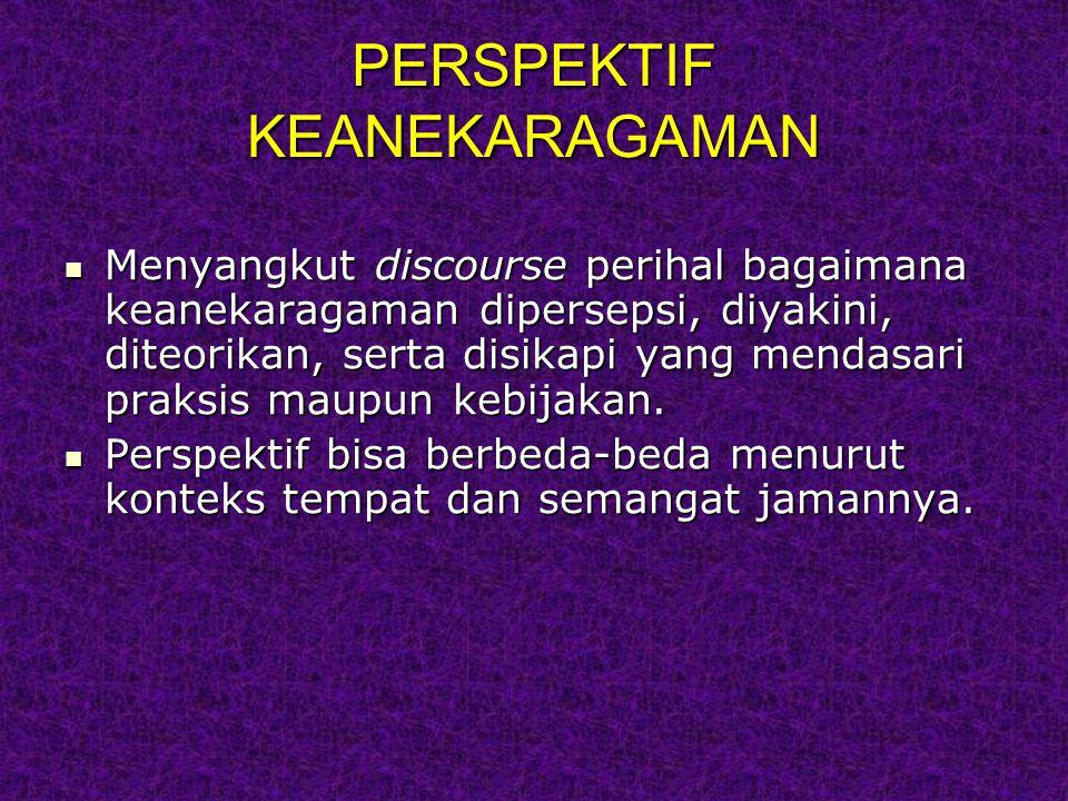 PERSPEKTIF KEANEKARAGAMAN