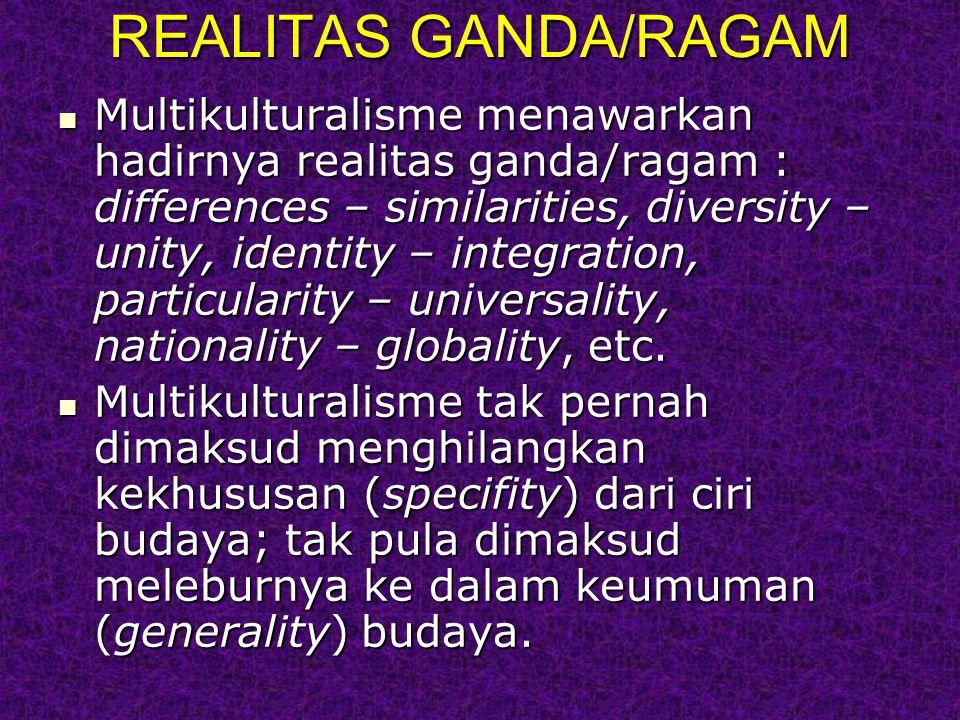 REALITAS GANDA/RAGAM