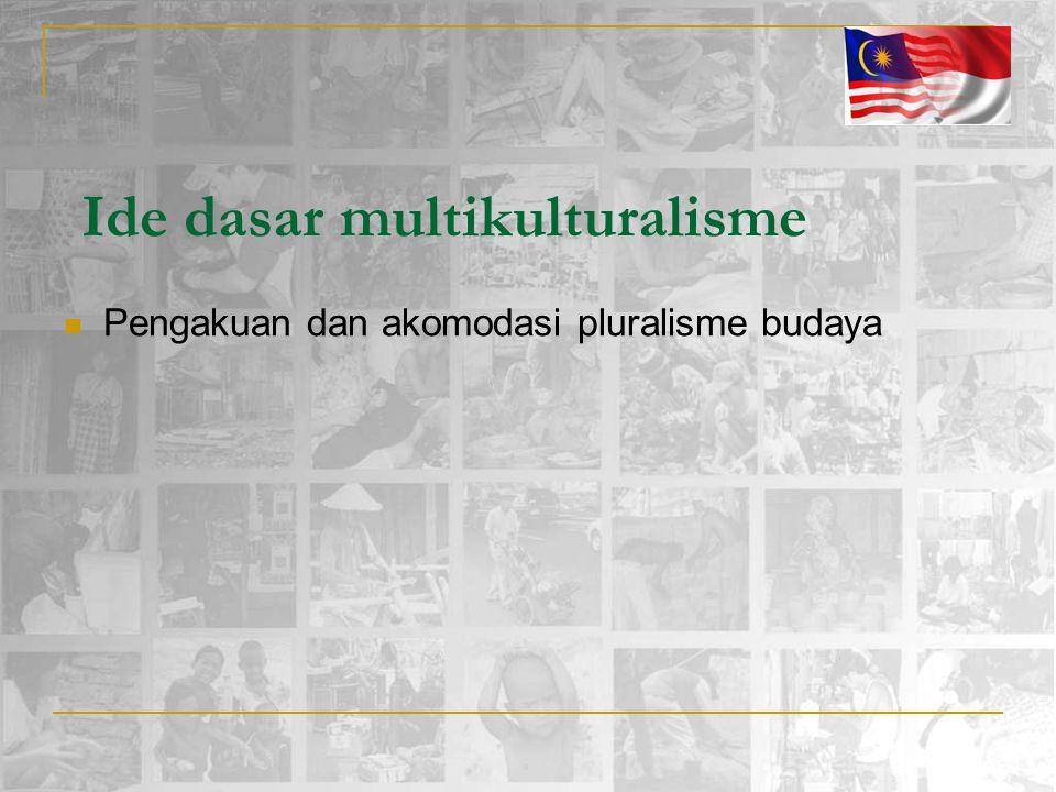 Ide dasar multikulturalisme