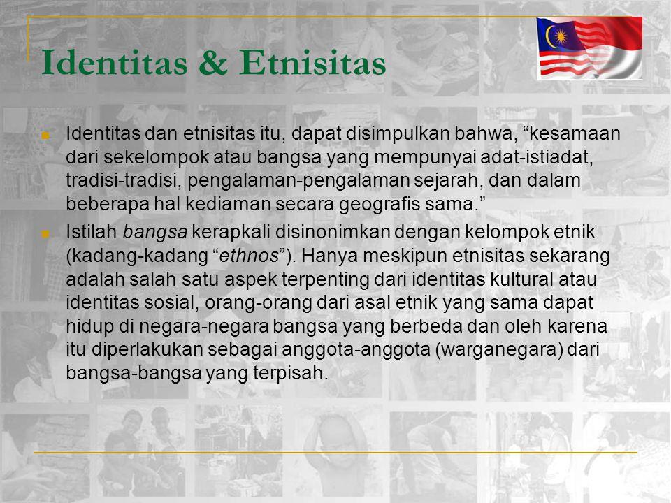 Identitas & Etnisitas