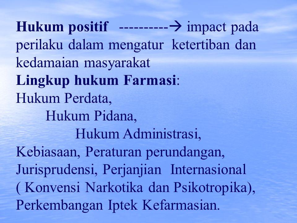Hukum positif ---------- impact pada perilaku dalam mengatur ketertiban dan kedamaian masyarakat