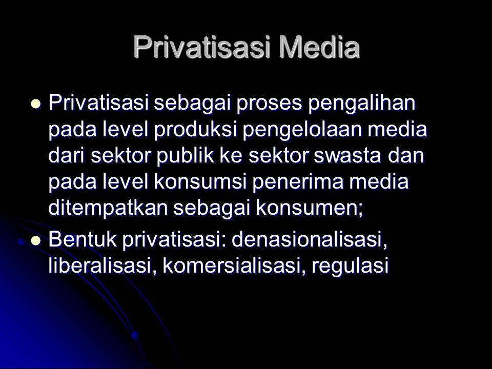 Privatisasi Media