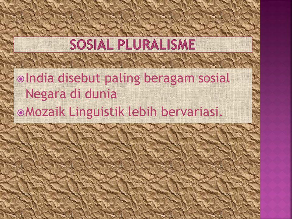 Sosial Pluralisme India disebut paling beragam sosial Negara di dunia