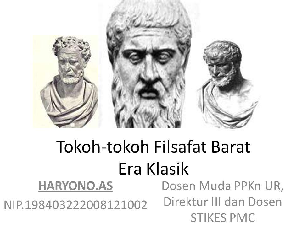 Tokoh-tokoh Filsafat Barat Era Klasik