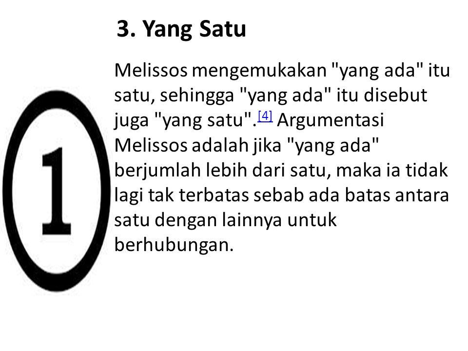 3. Yang Satu