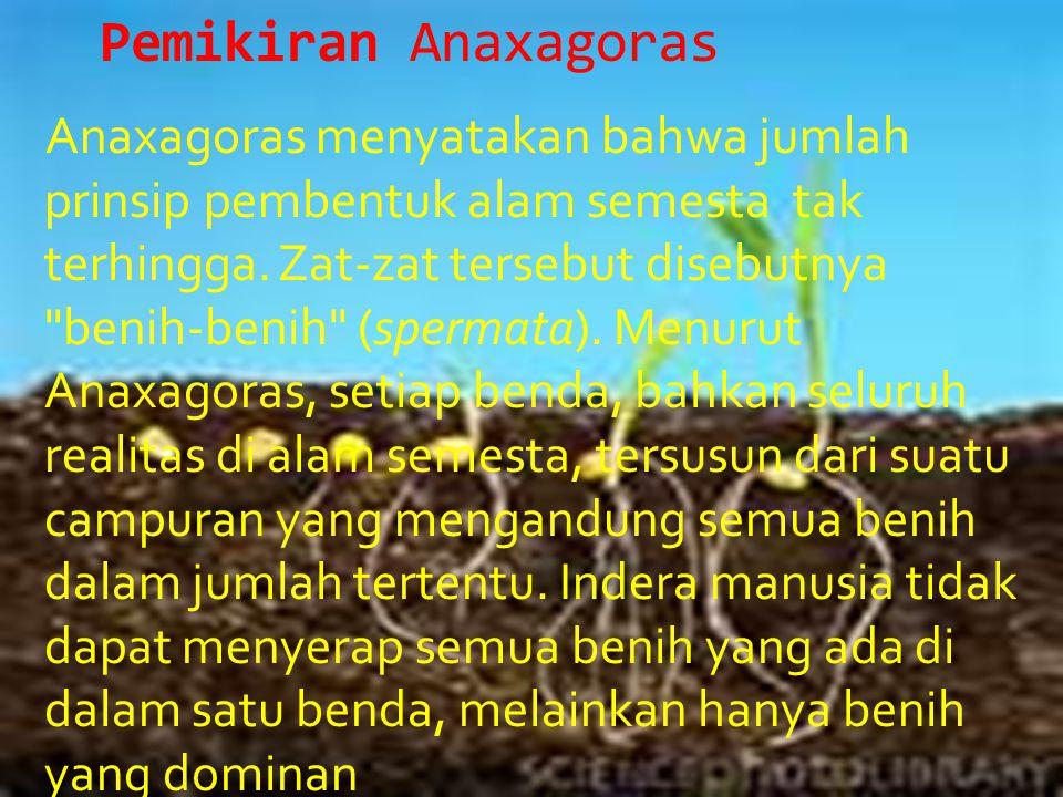 Pemikiran Anaxagoras