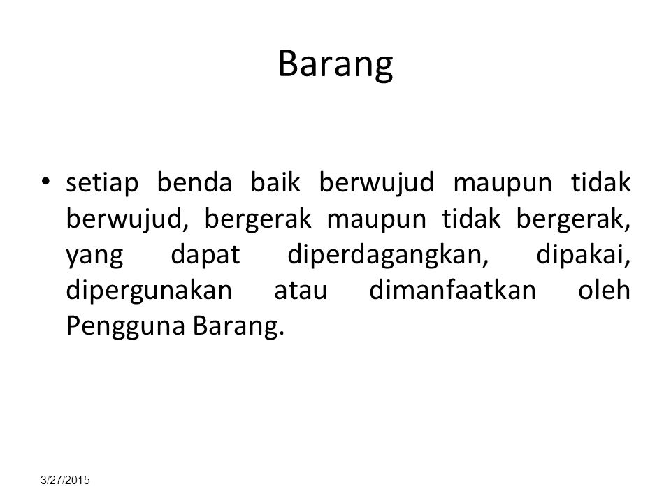 Barang