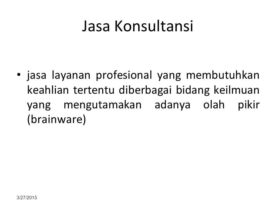 Jasa Konsultansi