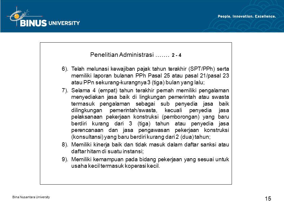 Penelitian Administrasi ……. 2 - 4