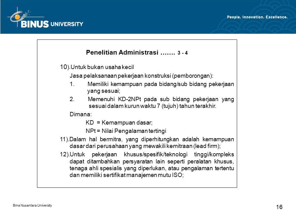 Penelitian Administrasi ……. 3 - 4