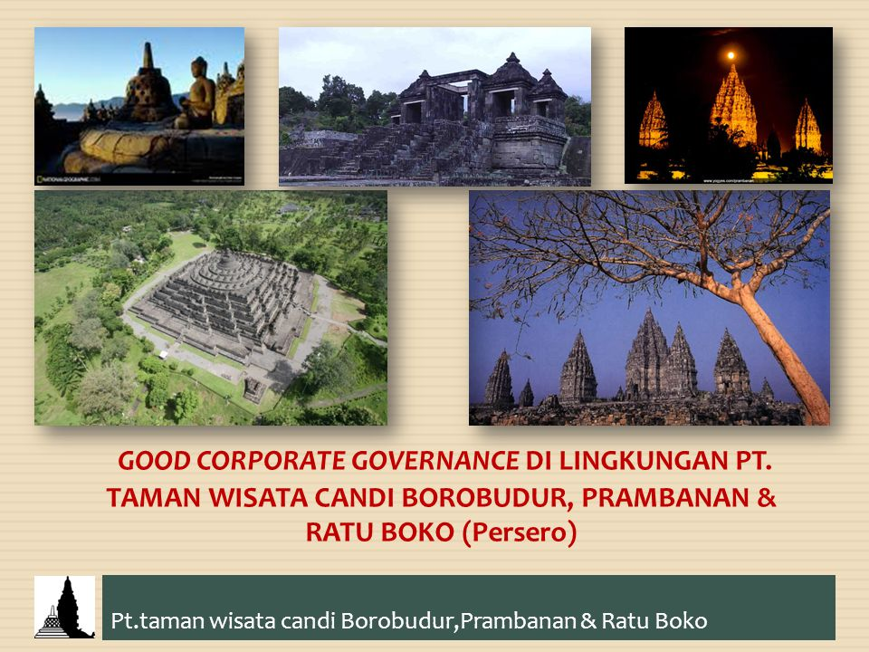 Pt.taman wisata candi Borobudur,Prambanan & Ratu Boko