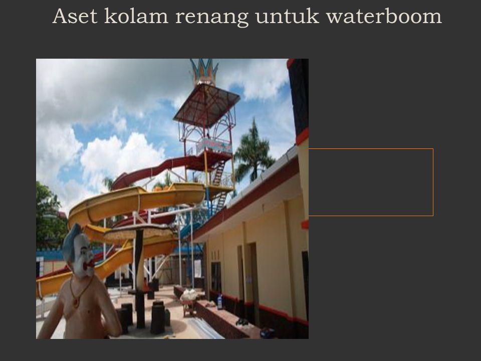 Aset kolam renang untuk waterboom