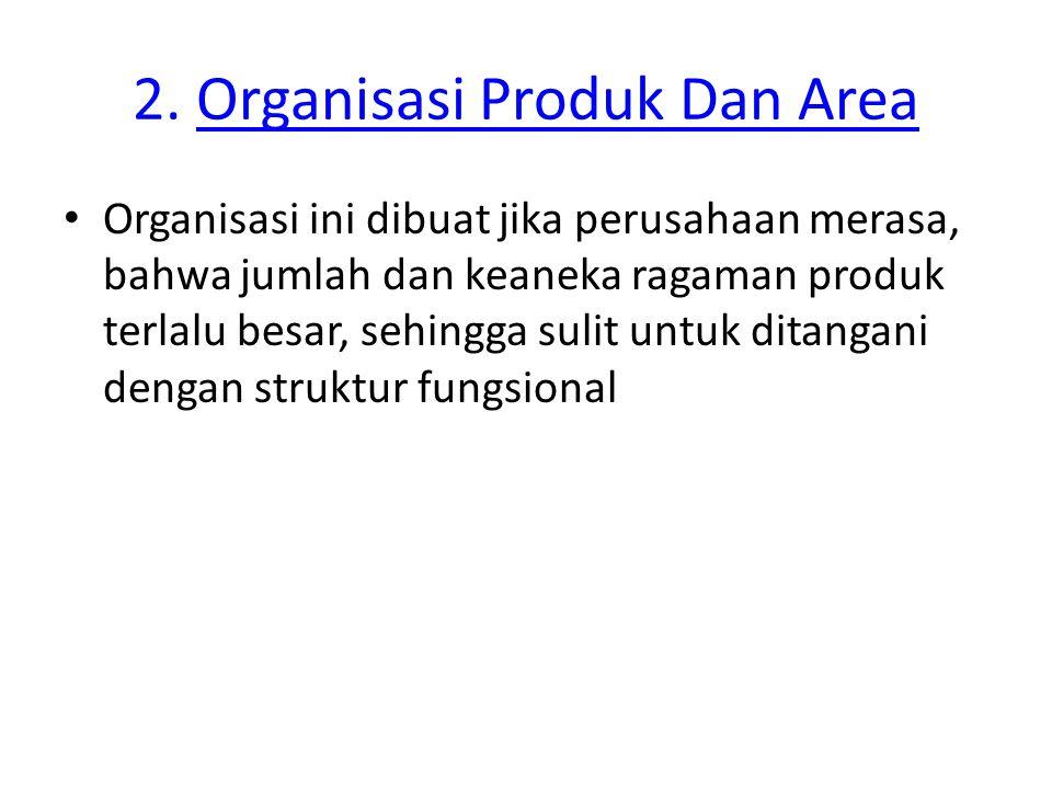 2. Organisasi Produk Dan Area