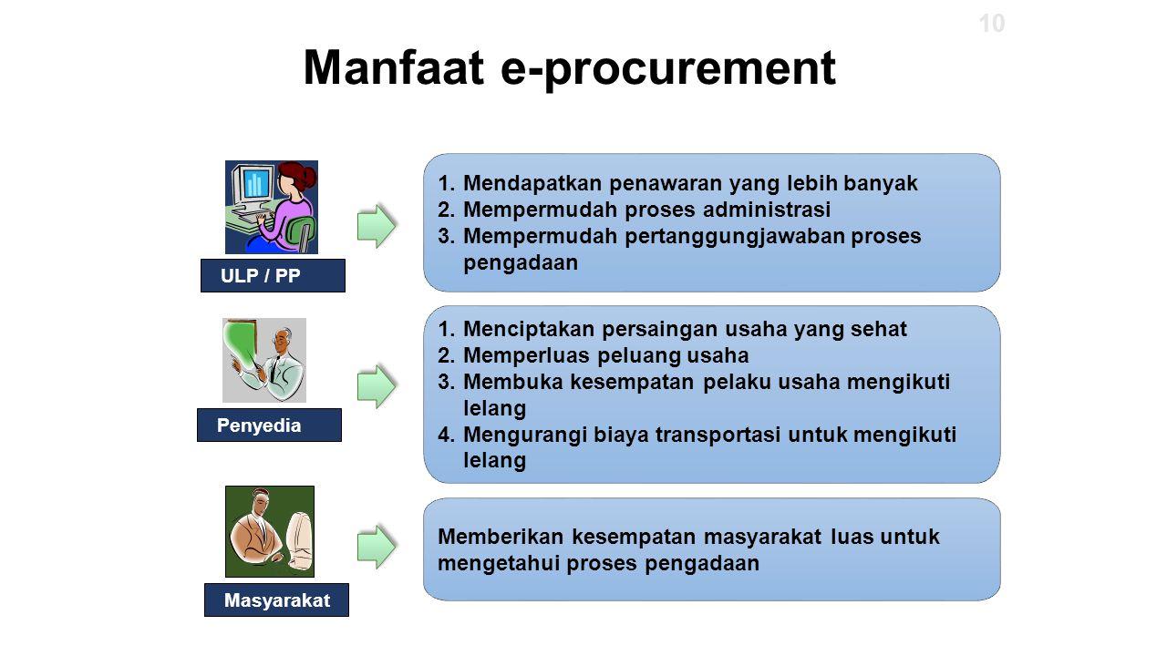 Manfaat e-procurement