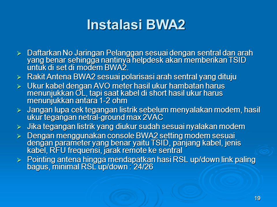 Instalasi BWA2