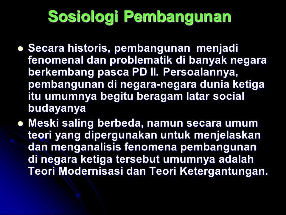 Sosiologi Pembangunan