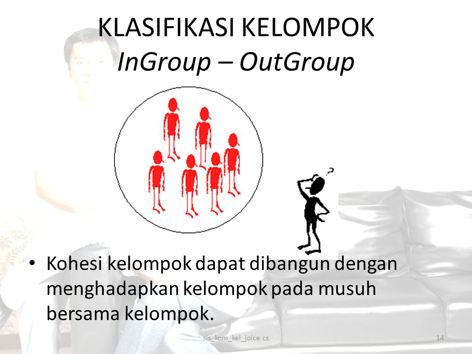 KLASIFIKASI KELOMPOK InGroup – OutGroup