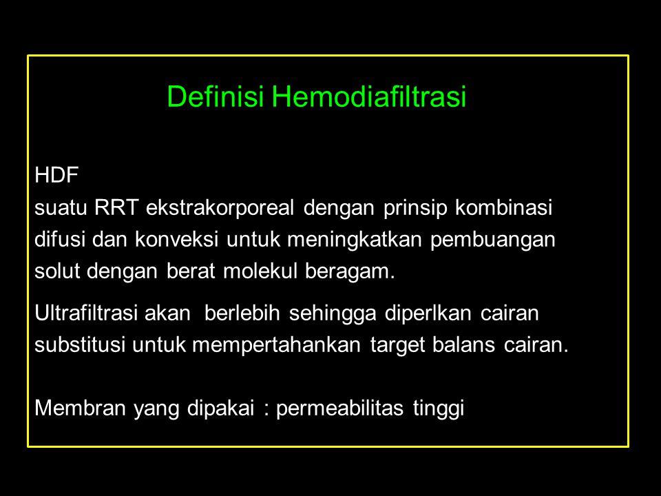 Definisi Hemodiafiltrasi