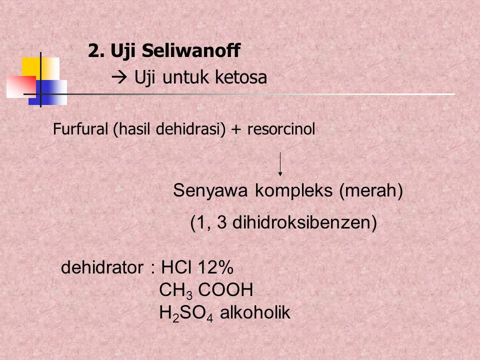 Senyawa kompleks (merah)