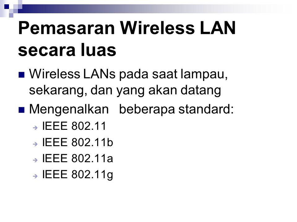 Pemasaran Wireless LAN secara luas