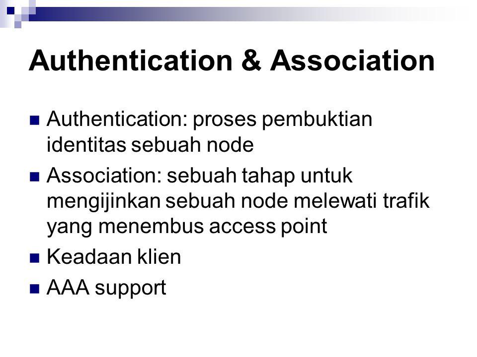 Authentication & Association